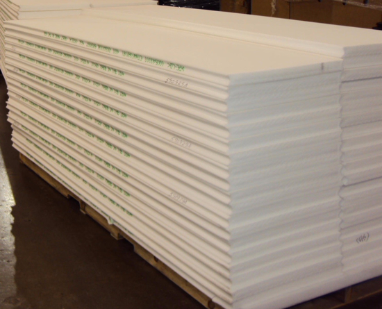 Picture of 6LBS Density Polyethylene Planks-Laminated