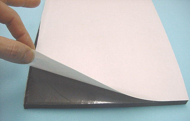 Picture of Neoprene With Adhesive Backing