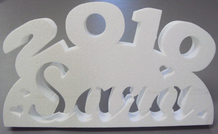Picture of Custom Name Design Decoration - 10 piece pack