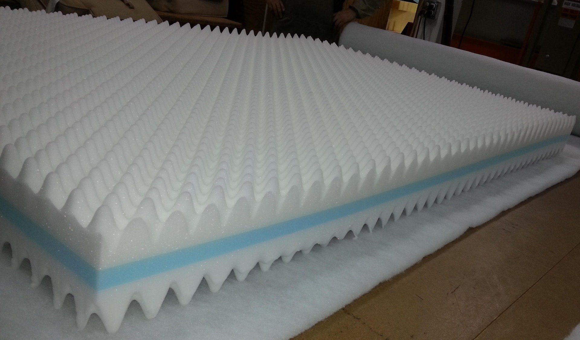 Picture of Convoluted Eggcrate Foam Topper