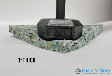 """1"""" Thick Rebound with Weight"""