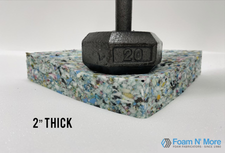 """2"""" Thick Rebound with Weight"""