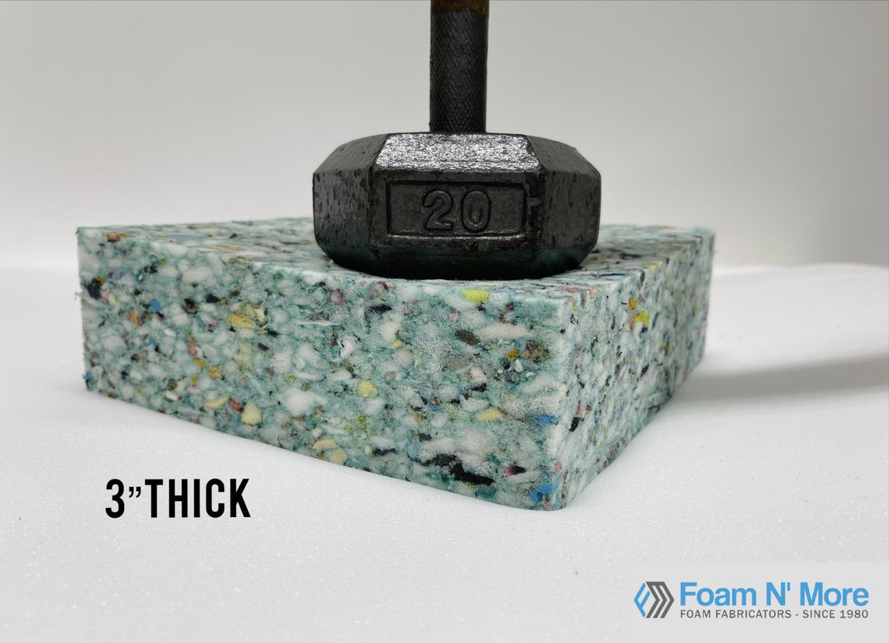 """3"""" Thick Rebound with Weight"""