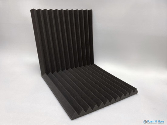 Acoustic Wedge for Corners