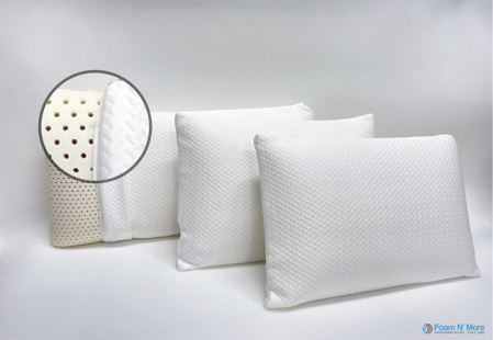 Latex Foam Bed Pillows