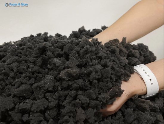 Picture of Charcoal Shredded Polyurethane Foam