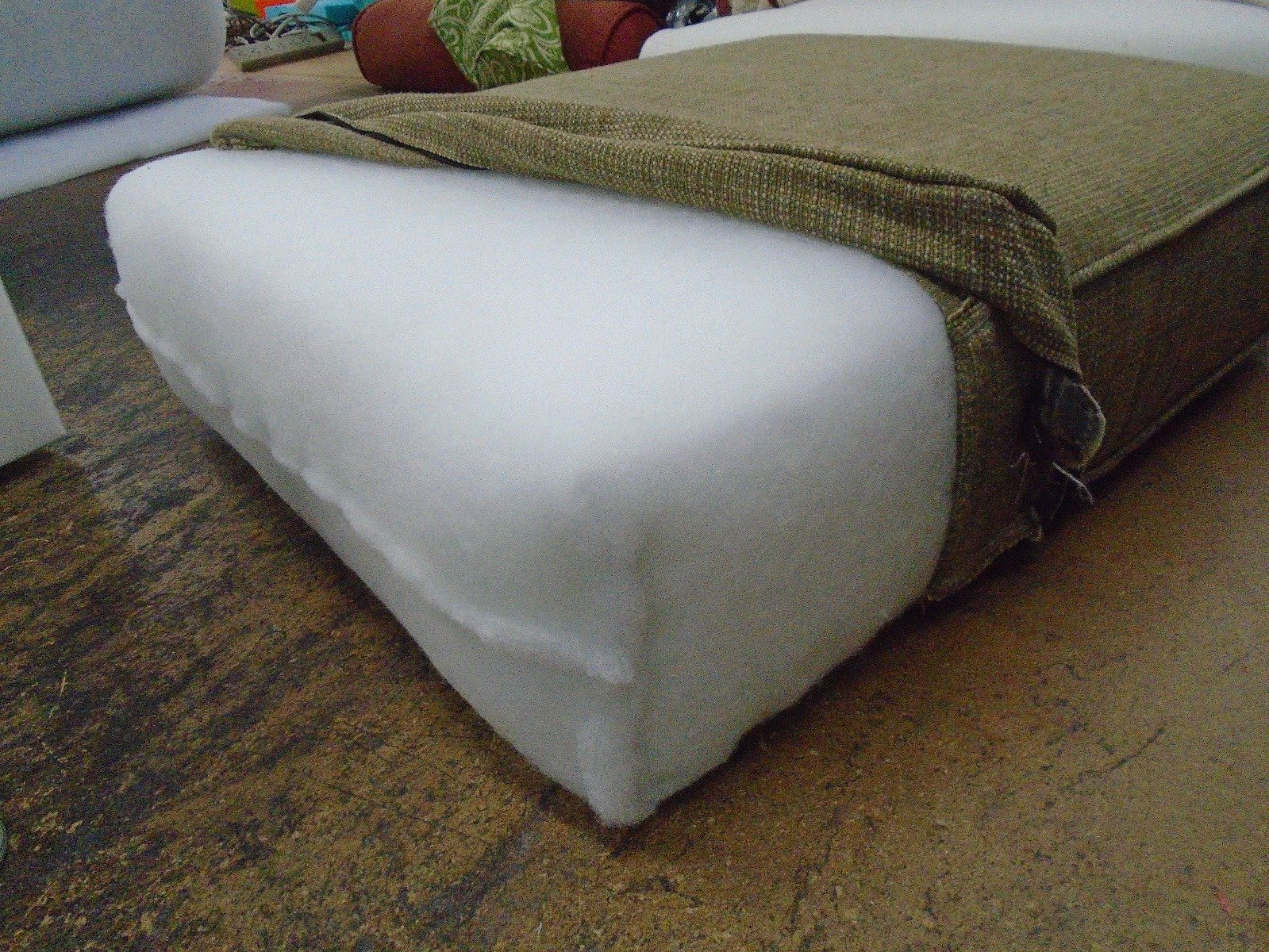 Foam Cushion with dacron Wrap