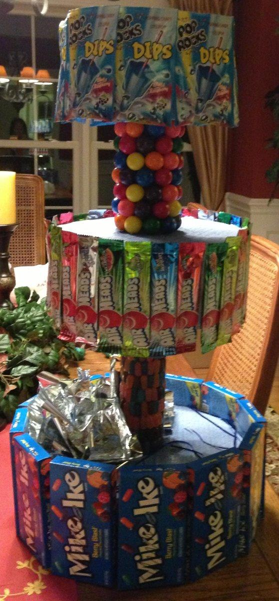 Halloween Candy Stand