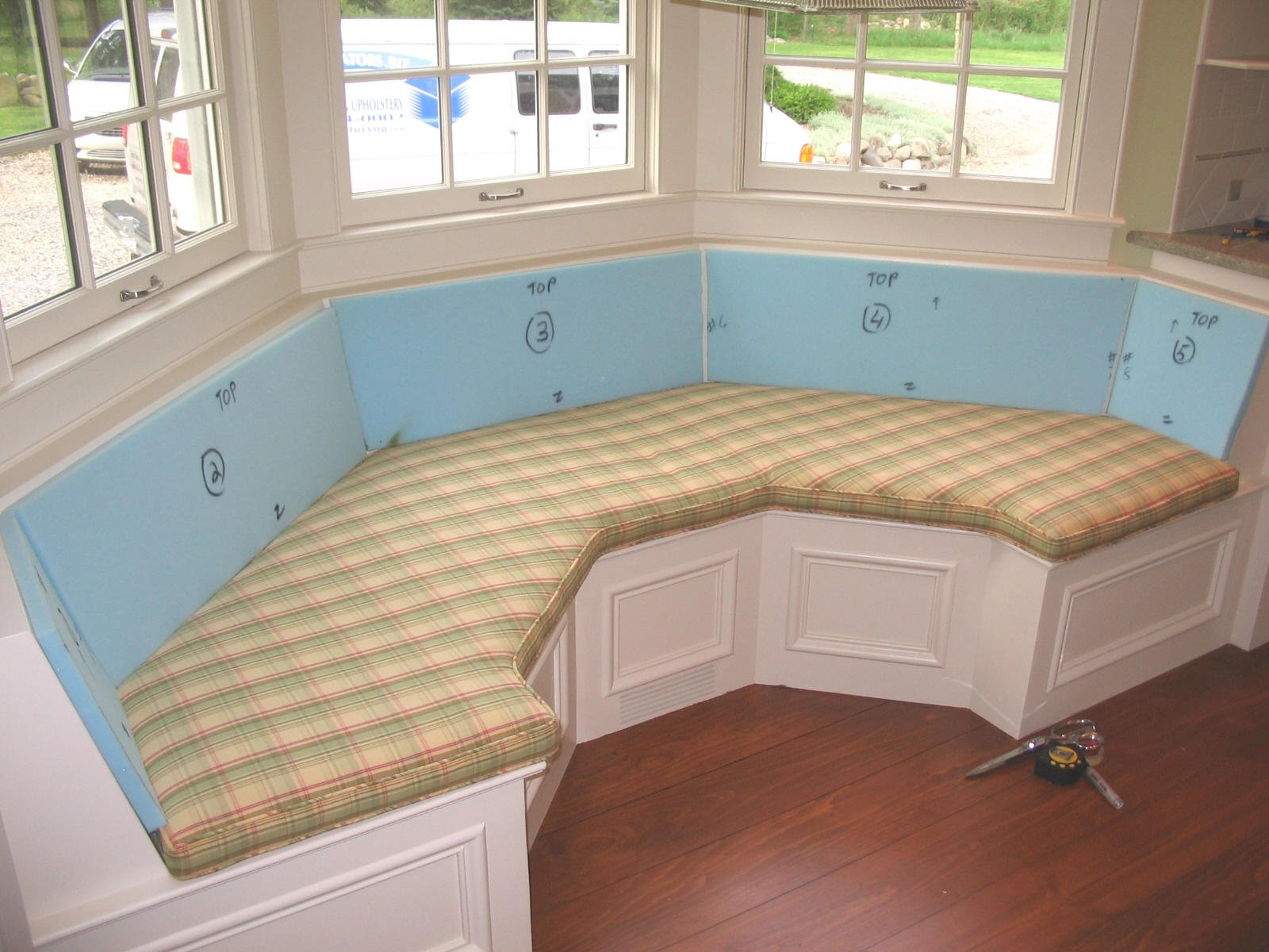 Round Seat Cushion Bay Window